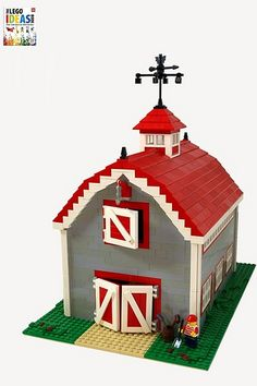 "2011 barn - lego models commissioned for dorling kindersley's ""lego ideas book"""