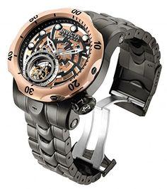 Invicta Men's 16300 Reserve Venom Tourbillon 52mm Stainless Steel Bracelet Watch Invicta