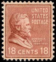 US Stamps 1938 Prexies. Scott # 823