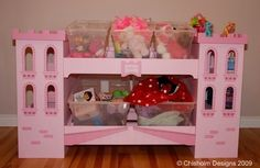 Castle Themed Toy Box