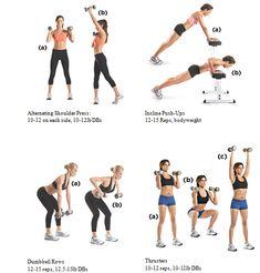 Upper Body Exercises for Women | upperbody