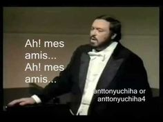 Original video by Angus: http://www.youtube.com/user/angus24402870451 Pavarotti's high C's Aria: Ah! Mes Amis... Pour Mon Âme Singer(tenor): Luciano Pavarott...