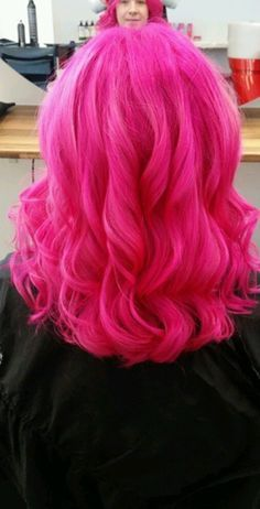 HAARE Pink du Hair Loss Best Solution When addressing a problem, any problem, of the solution is Bright Pink Hair, Hot Pink Hair, Hair Color Pink, Blonde Color, Pastel Pink, Pelo Multicolor, Color Fantasia, Coloured Hair, Grunge Hair