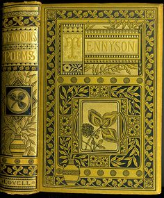 The Poetical Works of Alfred Tennyson c.1884. Photo ©  William CRESWELL (Book Owner, Photographer. USA) aka crackdog via flickr ... Copyright LAW requires the photographer be credited.  KEEP attribution & links when repinning or posting  ... ATTRIBUTION & COPYRIGHT LAW REQUIREMENTS: http://pinterest.com/pin/86975836525792650/  HOW TO FIND the ORIGINAL WEB SITE of an image: http://pinterest.com/pin/86975836525507659/
