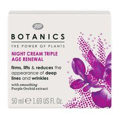 Botanics Triple Age Renewal Night Cream - 1.69 oz
