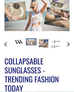 . Fashion Today, Sunglasses, Hot, Fashion Trends, Instagram, Sunnies, Shades, Trendy Fashion, Eyeglasses
