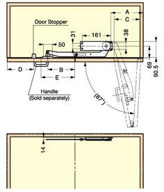 SELF FOLDING DOOR MECHANISM - Sugatsune Folding Doors, Self, Floor Plans, Pocket Doors, Floor Plan Drawing, House Floor Plans
