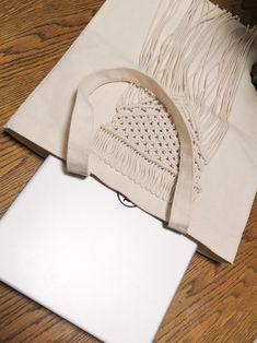 Cotton Rope, Cotton Bag, Diy Crafts Room Decor, Crochet Clutch, Macrame Bag, Macrame Design, Macrame Projects, Basket Bag, Macrame Patterns