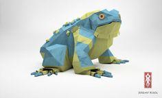 Origami Lizard (Paper Fox)