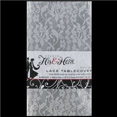 Add an elegant touch to event décor while making cleanup a breeze with this plastic White Lace Table Cover. Perfect for shower and bridal parties! Art Craft Store, Craft Stores, Ios, Lace Table, Sister Wedding, Diy Wedding, Wedding Beauty, Wedding Ideas, Table Covers