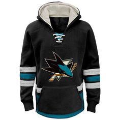 San Jose Sharks Reebok Youth Retro Skate Hoodie - Black - $59.99