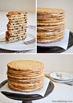 Chocolate Chip Cookie Cake