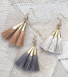 ever alice studio sonia tassel earrings.