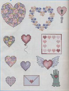 Cross Stitch World: CrossStitch. LOVE