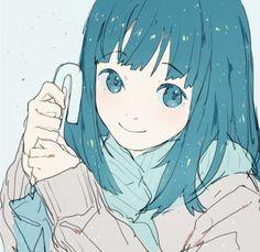 Imagen de anime girl, anime, and kawaii