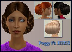 So, when I mentioned last post I had ten hairs to upload? I lied. I have eleven . Why the theme? Well, on the whole I tend to notice meshes when they pop up on places like Simscave, so the free hairs get a little less attention. I went to raid some of the older meshes (I have mixed results…