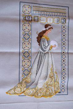 Celtic Winter (L&L): Embroidered with Petite Treasure Braid and Wisper88