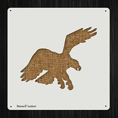 Eagle Hawk Style 532, DIY Plastic Stencil Acrylic Mylar Reusable * Read more reviews of the product by visiting the link on the image.