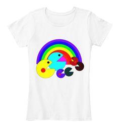 Pacman Eat Rainbows T-Shirt