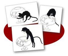 Images séquentielles Les Chats