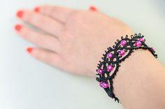 Star - tatting bracelet
