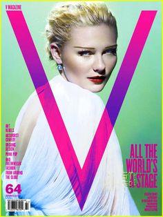 Old Hollywood Glamtography : Kristen Dunst Covers V64