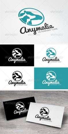 Pets Veterinary Clinic Logo Template — Vector EPS #care #dog • Available here → https://graphicriver.net/item/pets-veterinary-clinic-logo-template/6912897?ref=pxcr