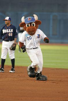 Runnin' the bases Wool E.@ Durham Bulls