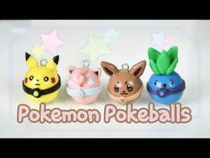 ALL EEVEELUTIONS TUTORIAL! - Make all 9 characters out of clay - YouTube