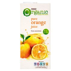 #TescoOrganic! Pure Orange Juice from concentrate.