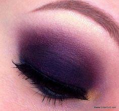 fall makeup cranberry