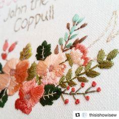 @thisishowisew #embroidery #broderie #bordado #ricamo #handembroidery #needlework