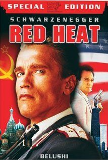 Red Heat: Special Edition on DVD from Lions Gate Films. Staring James Belushi, Arnold Schwarzenegger, Peter Boyle and Ed O'Ross. More Action, Cops/Police and Cult Film / TV DVDs available @ DVD Empire. Heat Film, Heat Movie, Movie Tv, Movie List, Arnold Schwarzenegger, Internet Movies, Movies Online, Top Movies, Movies To Watch