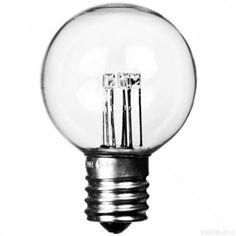 LED - G50 - E17 - Precision Lighting LEDGG5017WW  $2.98 but it's 130V and 9W equivalent