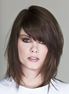 possible hair cut. medium length hair style I really like this one too, but with some more hair colors added in.
