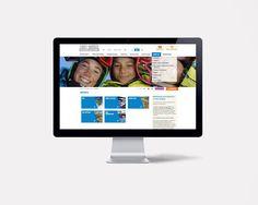 Site internet de l'OT de Font-Romeu par l'agence double-id.com Communication Agency, L Office, Site Internet, Infant, Polaroid Film, Website, Phone, Advertising Agency, Baby