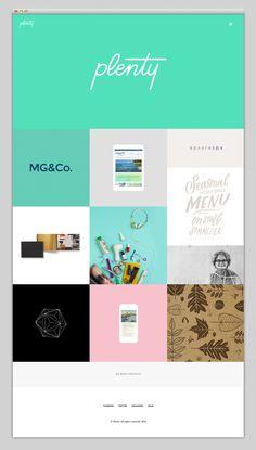 Plenty in Webdesign