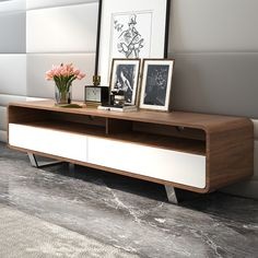 Gramercy 59 TV Stand Home Living RoomApartment RoomsModern