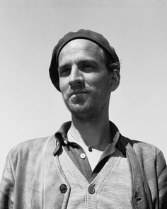 Ingmar Bergman, Swedish director, writer and producer.
