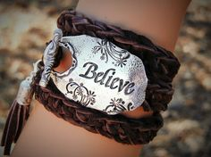 Hey, I found this really awesome Etsy listing at https://www.etsy.com/listing/217940800/inspirational-leather-wrap-bracelet