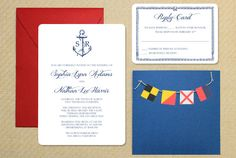 Download the free templates and follow the tutorial to make your own DIY Nautical Wedding Invitation courtesy of Download and Print!