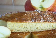 Light Apple Cake and Skyr WW - Main Course and Recipe - Talya Fandrich Dessert Ww, Ww Desserts, French Crepes, French Toast, Weight Watchers Breakfast, Light Cakes, Crepe Recipes, Apple Cake, Beignets