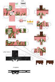 Resultado de imagen para minecraft papercraft zombie print out