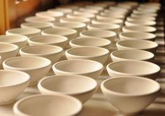 Lucy Fagella Pottery: small bowls in progress #ceramics