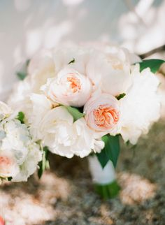 Blush Pink Bouquet | Katie Stoops Photography via Bayside Bride