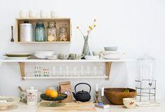 Lotta Jansdotter's studio kitchen