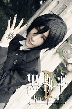 Black Butler - Sebastian cosplay