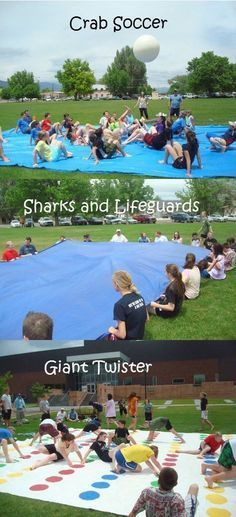 Outdoor Group Games For Kids Activities Family Reunions 26 Ideas For 2019 Summer Camp Activities, Youth Activities, Summer Camp Games, Games For Youth Groups, Large Group Games For Teens, Youth Group Crafts, Youth Group Events, Funny Games For Groups, Sisterhood Activities