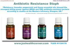 Young Living Essential Oils: MRSA