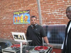 Leimert Park Beat Party with Solar Powered DJ's our volunteers!!  www.fivepointsyouthfoundation.org